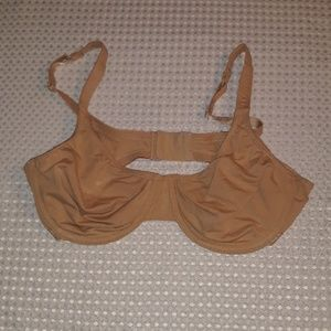 Fruit of the Loom, Sz. 36C, nude, underwire bra